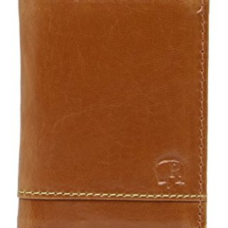 Robert Graham Men's Aberdeen Leather RFID Card Case Wallet, One size, Tan