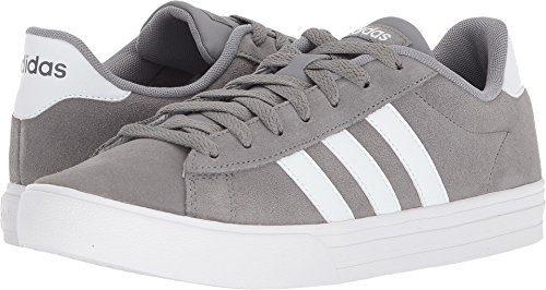 adidas Men's Daily 2.0 Sneaker, Grey Three/White/White, 11 M US