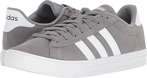 adidas Men's Daily 2.0 Sneaker, Grey Three/White/White, 11 M US