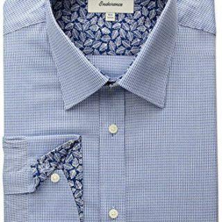 "Ted Baker Men's Troon Slim Fit Dress Shirt, Blue, 15.5"" Neck 32""-33"" Sleeve"