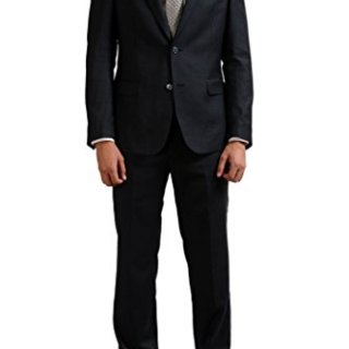 Versace Collection Wool Cashmere Gray Two Button Men's Suit US 42 IT 52;