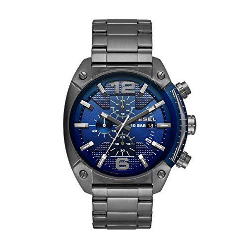 Diesel Men's Overflow Gunmetal Watch