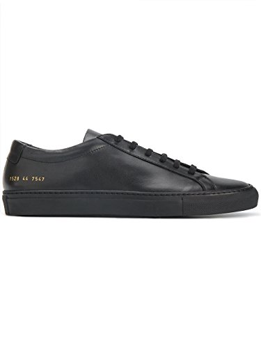 COMMON PROJECTS Men's Black Leather Sneakers