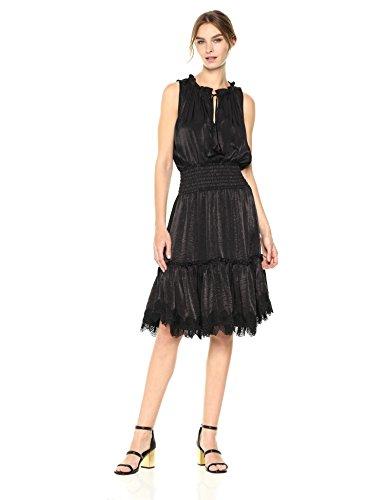 Misa Women's Moav Dress, Onyx, Large