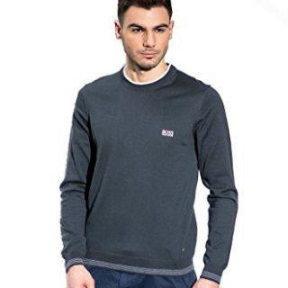 Hugo Boss Mens Long Sleeve Rime PS Sweater Navy Blue XX-Large