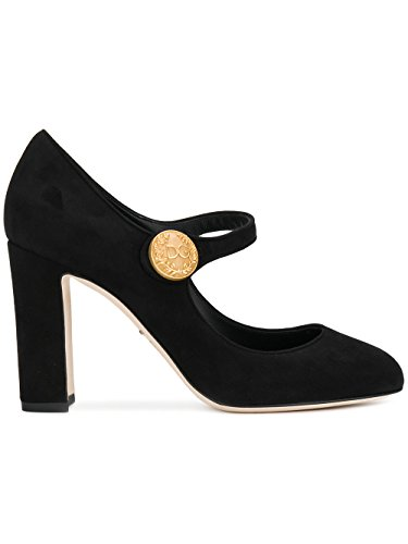 Dolce e Gabbana Women's Black Leather Pumps
