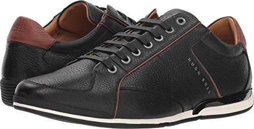 Hugo Boss BOSS Men's Saturn Low Profile Sneaker by BOSS Green Black 12 D US