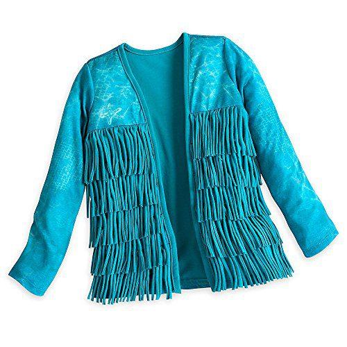 Disney Uma Cardigan for Girls - Descendants 2 Size 7/8 Blue