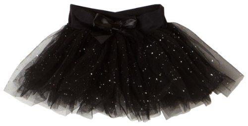 734371f51 Capezio Little Girls' Tutu Skirt W/ Glitter Tulle,Black,Intermediate ( 6