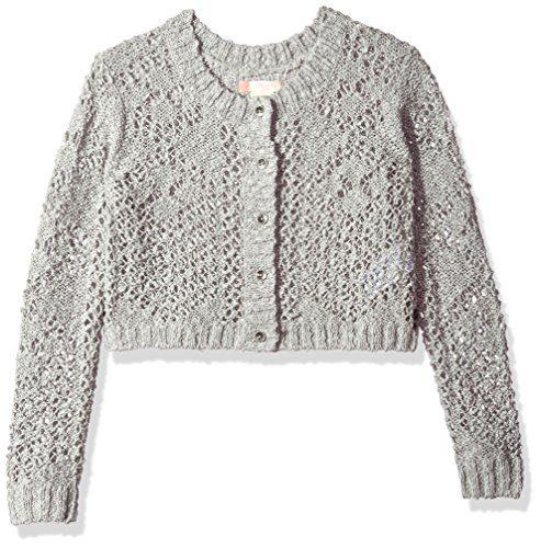 Roxy Big Girls' High Friendship Sweater, Heritage Heather, 16/XXL