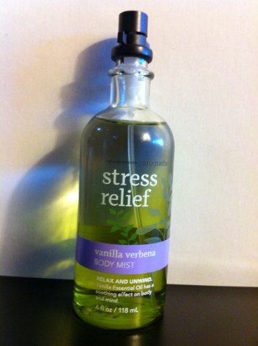 Bath and Body Works Stress Relief - Vanilla Verbena