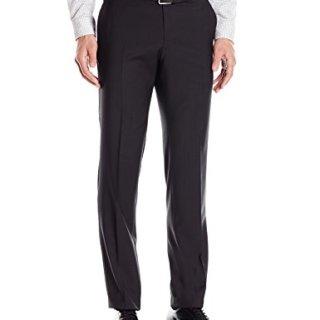 HUGO by Hugo Boss Men's Slim Fit Business Trousers, Black, 36R
