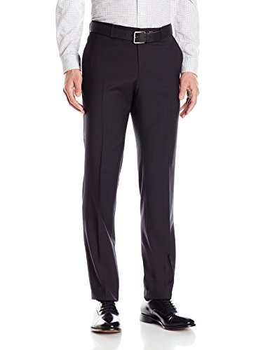 HUGO by Hugo Boss Men's Slim Fit Business Trousers, Black, 36R