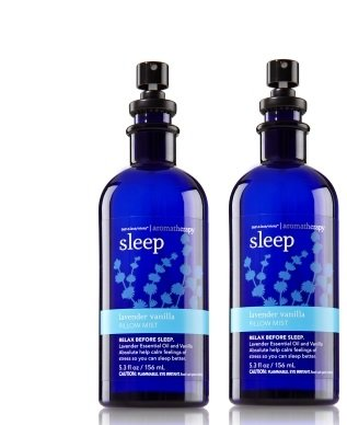 Bath and Body Works Aromatherapy Sleep Pillow Mist Lavender Vanilla. 5.3 Oz