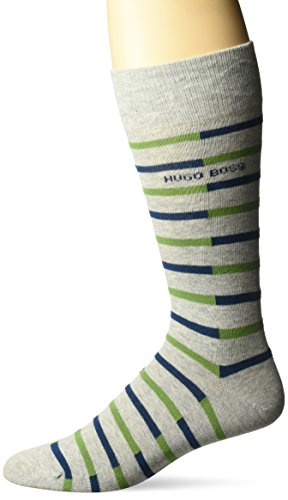 BOSS HUGO BOSS Men's Rs Stripe Cc, Light Grey, 7-13