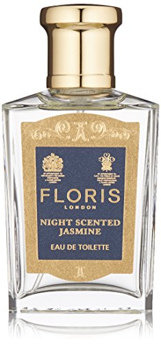 Floris London Night Scented Jasmine Eau de Toilette Spray, 1.7 Fl Oz