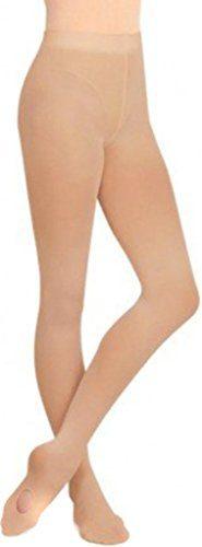 Capezio Dance Girls' Ultra Soft Transition Tight,Light Tan,US Child