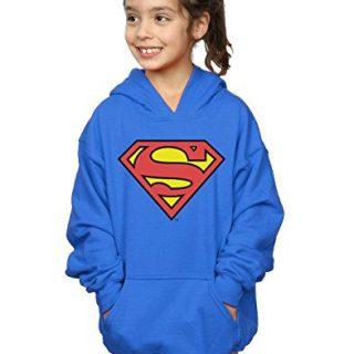 DC Comics Girls Superman Logo Hoodie
