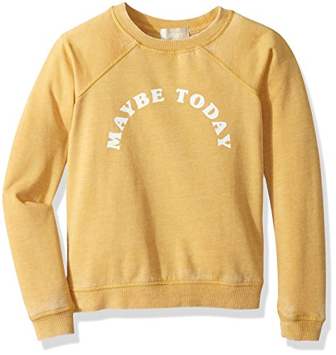 Roxy Big Girls' Fingers Crossed Pullover Sweatshirt