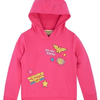 Wonder Woman Girls' DC Comics Hoodie Size 6