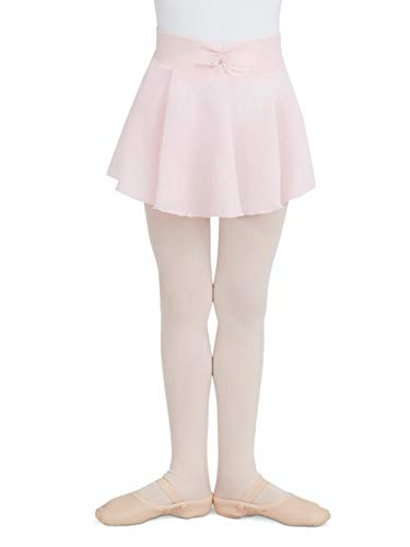 Capezio Little Girls' Pull-On Georgette Skirt, Pink, Toddler