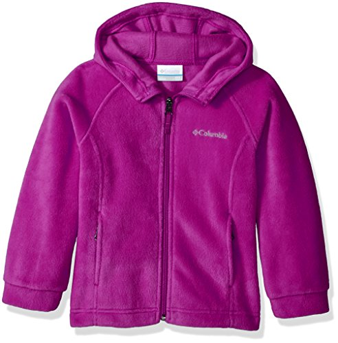 Columbia Big Girls' Benton II Hoodie, Deep Blush, X-Large