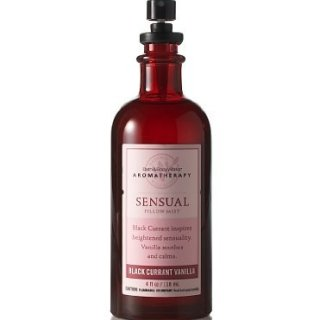 Bath & Body Works Aromatherapy* Black Currant Vanilla* Sensual Pillow Mist