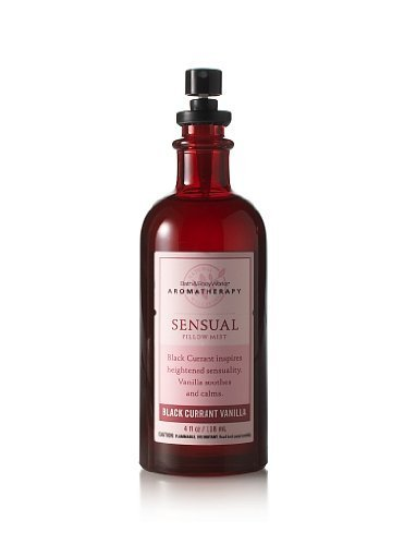 Bath & Body Works Aromatherapy* Black Currant Vanilla* Sensual Pillow Mist