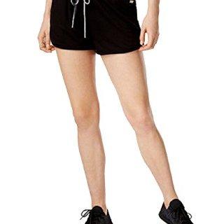 Tommy Hilfiger Dolphin-Hem Drawstring Shorts (Black, XL)