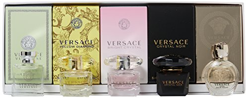 Versace Miniatures 5 Piece Mini Gift Set for Women