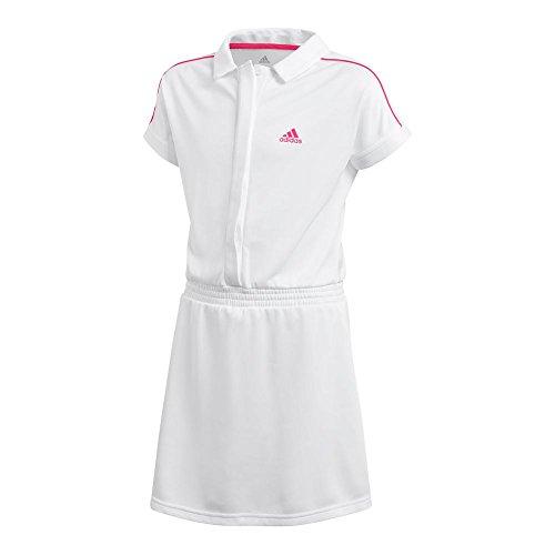 adidas Tennis Seasonal Dress, White, Medium