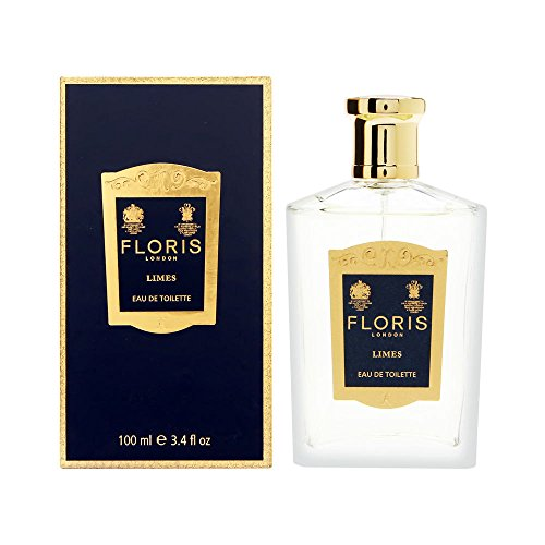 Floris Of London Limes Perfume Eau de Toilette Spray for Women, 3.4 Ounce
