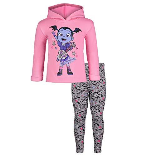 Disney Vampirina Toddler Girls' Fleece Hoodie & Leggings Clothing Set (5T)