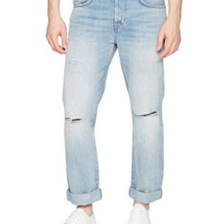 Hudson Jeans Men's Dixon Easy Straight Jeans, Lone Wolf, 31