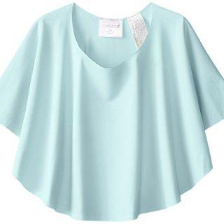 CapezioBig Girls' Diamond Lattice Circle Skirt, Seafoam, Large