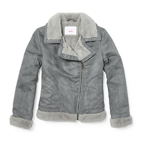 The Children's Place Big Girls' Jacket, Chalkboard