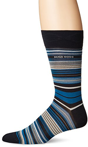 BOSS HUGO BOSS Men's Rs Multistripe Us Mc, Black, 7-13