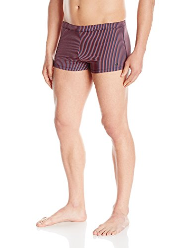 Hugo Boss BOSS Men's Barb Swim Short, Navy, Large