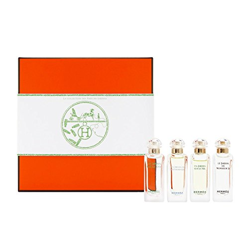 Hermes La Collection Des Parfums Jardins 4 Piece Set