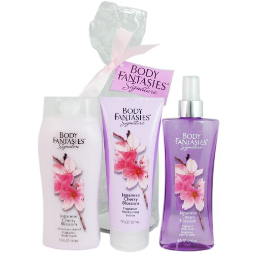 Body Fantasies Signature Japanese Cherry Blossom 3 Piece Gift