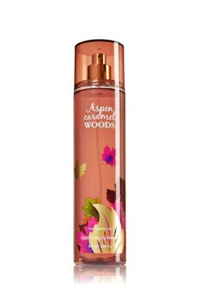 Aspen Caramel Woods Fine Fragrance Mist 8 Fl Oz Bath and Body Works