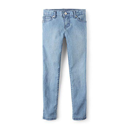 The Children's Place Big Girls' Skinny Jeans, LT Indigo, 8