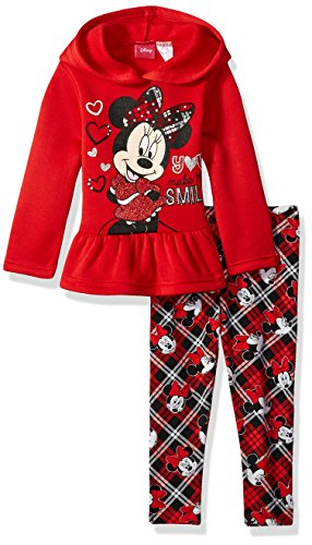 Minnie Mouse 2-Piece Hooded Top and Legging Set,