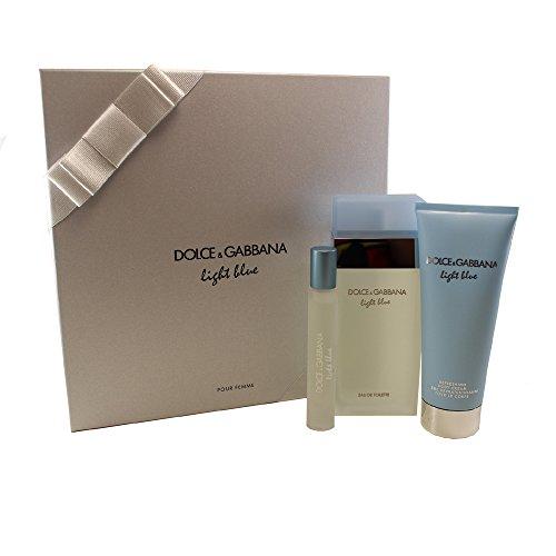 Dolce & Gabbana Light Blue 3 Piece Gift Set