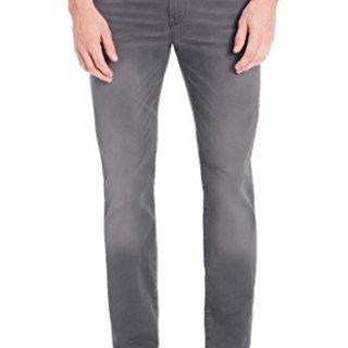 Hugo Boss Men's 'Delaware3-1' Slim Fit Dark Grey Stretch Denim Jeans 32x32