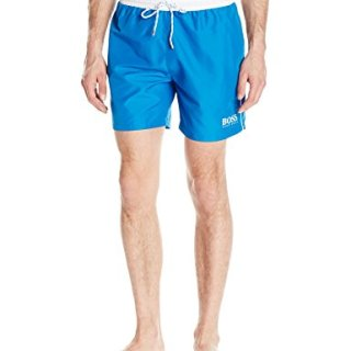 Hugo Boss BOSS Men's Starfish Swim Trunk, Deep Blue, X-Large