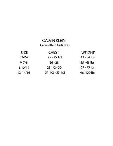 6621b578487c95 Home Shop Kids Girls Clothing Underwear Calvin Klein Big Girls  Modern  Cotton Molded Logo Bra