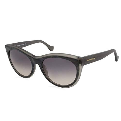 Balenciaga horn/other / green sunglasses