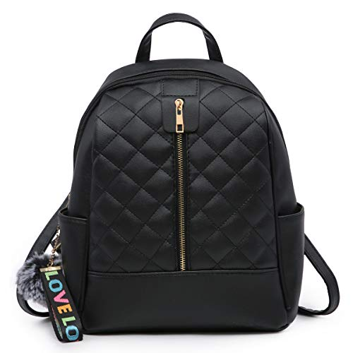 Faux Leather Backpack Purse for Women, XB Waterproof Purse Fashion Backpack