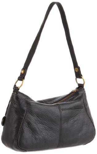 Iris Small Hobo Hobo Bag, BLACK,